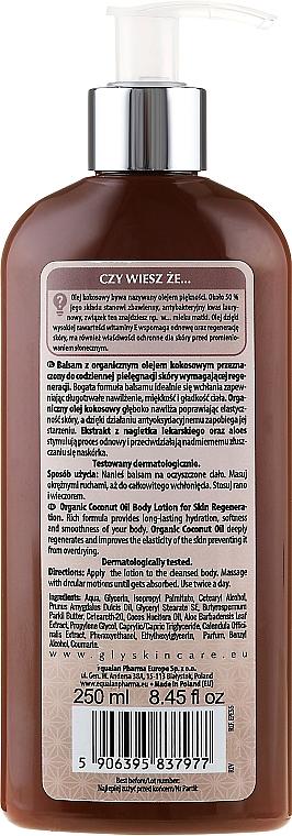 Körperlotion mit Bio Kokosöl - GlySkinCare Coconut Oil Body Lotion — Bild N2