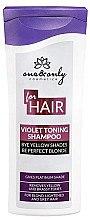 Düfte, Parfümerie und Kosmetik Anti-Gelb Shampoo für blondes, blondiertes oder graues Haar - One&Only Cosmetics For Hair Violet Toning Shampoo