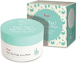 Düfte, Parfümerie und Kosmetik Tonmaske für das Gesicht mit Apfel und Minze - Prreti Tok Tok Ade Clay Mask Smooth Apple Mint
