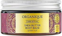 Düfte, Parfümerie und Kosmetik Körperbalsam Golden Oud mit Sheabutter - Organique Organique Shea Butter Body Balm Golden Oud