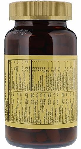Nahrungsergänzungsmittel Vitamin- und Mineralkomplex für Frauen - Solgar Female Multiple — Bild N4