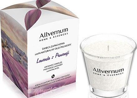 Duftkerze im Glas Provence Lavender - Allvernum Home & Essences Candle — Bild N1