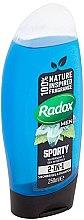 2in1 Duschgel und Shampoo mit Wasserminze und Meeresmineralien - Radox Men Feel Sporty 2in1 Shower Gel — Bild N2