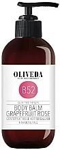 Düfte, Parfümerie und Kosmetik Feuchtigkeitsspendender und wohlduftender Körperbalsam mit Grapefruit und Rose - Oliveda Grapefruit Rose Body Balm