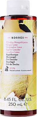 Duschgel mit Ingwer und Limette - Korres Ginger Lime Shower Gel — Bild N1