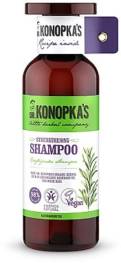 Stärkendes Shampoo - Dr. Konopka's Strengthening Shampoo — Bild N1