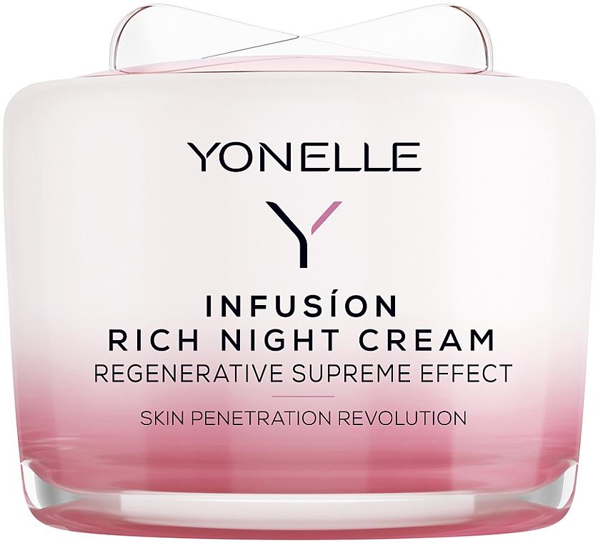 Regenerierende Nachtscreme für Gesicht und Hals - Yonelle Infusion Rich Night Cream — Bild N1