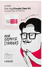 Düfte, Parfümerie und Kosmetik Gesichtspflegeset - COSRX One Step Pimple Clear Kit (Gesichtsgel 1.2ml + Gesichtspads mit BHA-Säure 5ml x 2St. + Gesichtsmaske 21ml)
