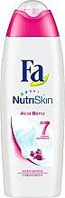 Düfte, Parfümerie und Kosmetik Feuchtigkeitsspendende Badecreme mit Acai-Beere - Fa NutriSkin Acai Berry