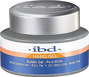 Aufbau-Gel in Weiß für natürlich schöne Nägel - IBD Builder Gel Pure White — Bild N1