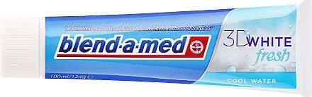 Zahnpasta 3D White Fresh Cool Water - Blend-a-med 3D White Fresh Cool Water Toothpaste — Bild N2