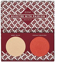 Düfte, Parfümerie und Kosmetik Highlighter-Palette - Zoeva Spice Of Life Highlighting Palette