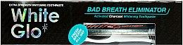 Zahnpflegeset - White Glo Charcoal Bad Breath Eliminator (Zahnpasta 100 ml & Zahnbürste 1 St.) — Bild N4