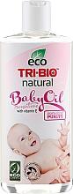 Düfte, Parfümerie und Kosmetik Pflegendes Körperöl für empfindliche Babyhaut mit Vitamin E - Tri-Bio Natural Baby Oil