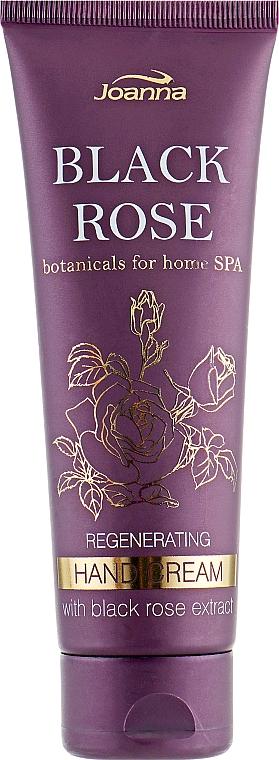 Regenerierende Handcreme mit Extrakten aus schwarzer Rose - Joanna Botanicals For Home Spa Regenerating Hand Cream Black Rose — Bild N1