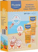 Düfte, Parfümerie und Kosmetik Körperpflegeset mit Sonnenschutz - Mustela Baby Sun Protection Set (Körperlotion SPF 50+ 2x100ml)