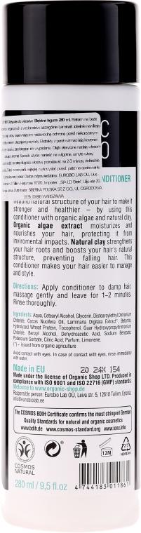 Stärkender Conditioner mit Algen & Tonerde - Organic Shop Organic Algae and Pearl Mineral Conditioner — Bild N2