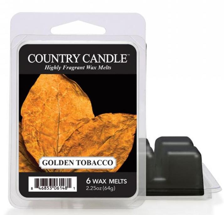 Tart-Duftwachs Golden Tobacco - Country Candle Golden Tobacco Mini Wax Melts — Bild N1