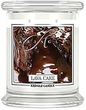Düfte, Parfümerie und Kosmetik Duftkerze im Glas Lava Cake - Kringle Candle Lava Cake
