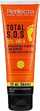 Düfte, Parfümerie und Kosmetik Feuchtigkeitsspendende Fußcreme mit 10% Harnstoff - Perfecta Total S.O.S. 10% Urea