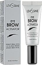 Düfte, Parfümerie und Kosmetik Oxidierende Creme für Augenbrauen 3% - LeviSsime Eye Brow Activator