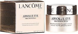 Düfte, Parfümerie und Kosmetik Augenkonturcreme - Lancome Absolue Eye Precious Cells Intense Revitalizing Eye Cream