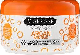 Düfte, Parfümerie und Kosmetik Haarmaske mit Argan für strapaziertes, gefärbtes und sprödes Haar - Morfose Buble Argan Hair Mask