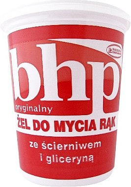 Handwaschgel mit Schleifmittel und Glycerin - BHP Handwashing Gel — Bild N1