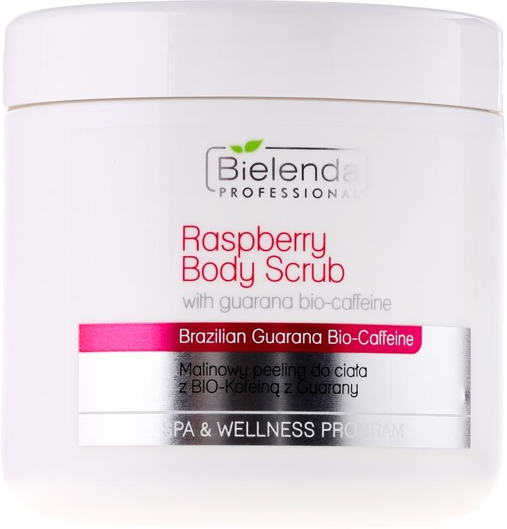 Körperpeeling mit Himbeere und Guarana Bio-Koffein - Bielenda Professional Spa & Wellness Program Raspberry Body Scrub With Guarany Bio-Caffeine