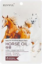 Düfte, Parfümerie und Kosmetik Beruhigende Tuchmaske mit Pferdeöl - Eunyul Horse Oil Mask Pack