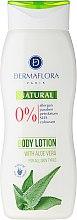 Düfte, Parfümerie und Kosmetik Körperlotion für alle Hauttypen mit Aloe Vera - Dermaflora Natural Body Lotion Aloe Vera