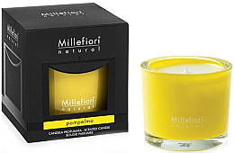 Düfte, Parfümerie und Kosmetik Duftkerze im Glas Pompelmo - Millefiori Milano Natural Candle Pompelmo