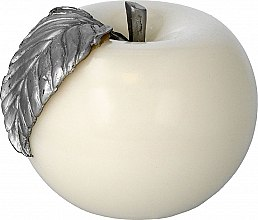 Düfte, Parfümerie und Kosmetik Dekorative Kerze Apple weiß - Artman Apple Candle Ø10cm