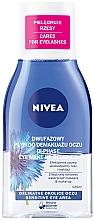 Düfte, Parfümerie und Kosmetik Double Effect Augen Make-Up Entferner für wasserfestes Make-up - Nivea Visage Double Effect Eye Make-Up Remover