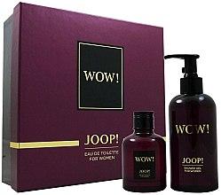 Düfte, Parfümerie und Kosmetik Joop! Wow! For Women Gift Set - Duftset (Eau de Toilette 60ml + Duschgel 250ml)