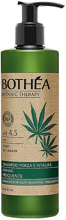 Stärkendes und vitalisierendes Shampoo mit Hanfsamenöl - Bothea Botanic Therapy Strenght Vitality Shampoo pH 4.5 — Bild N1