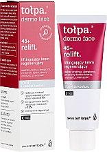 Düfte, Parfümerie und Kosmetik Regenerierende Nachtcreme für das Gesicht mit Lifting-Effekt 45+ - Tolpa Dermo Face Relift 45+ Night Cream