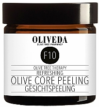 Düfte, Parfümerie und Kosmetik Revitalisierendes und nährendes Gesichtspeeling - Oliveda F10 Refreshing Olive Core Peeling