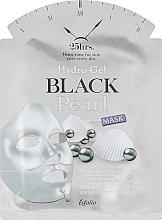 Düfte, Parfümerie und Kosmetik Aufhellende Hydrogel-Tuchmaske mit schwarzem Perlenextrakt - Esfolio Hydro-Gel Black Pearl Mask
