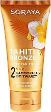 Düfte, Parfümerie und Kosmetik Selbstbräuner für Gesicht, Hals und Dekolleté - Soraya Tahiti Bronze 2 Step