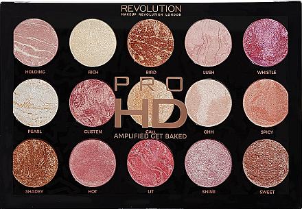 Schminkpalette - Makeup Revolution Pro HD Amplified Get Baked — Bild N1