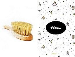 Pflegeset für Kinder - LullaLove Princess (Haarbürste + Musselin-Badetuch) — Bild N1