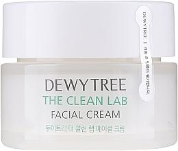 Düfte, Parfümerie und Kosmetik Feuchtigkeitsspendende Gesichtscreme mit Ceramiden und Hyaluronsäure - Dewytree The Clean Lab Facial Cream