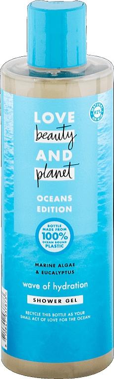 Duschgel mit Algen und Eukalyptus - Love Beauty&Planet Marine Algae & Eucalyptus Shower Gel — Bild N1