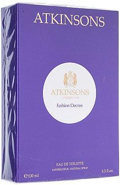 Atkinsons Fashion Decree - Eau de Toilette  — Bild N2