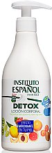 Düfte, Parfümerie und Kosmetik Körperlotion - Instituto Espanol Detox Body Lotion