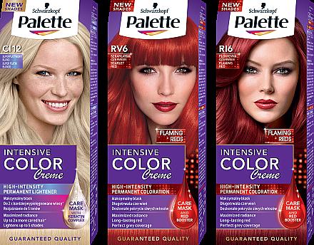 Permanente Creme-Haarfarbe mit Liquid-Keratin - Palette ICC — Bild N1