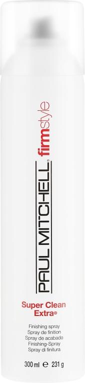 """Haarlack """"Starker Halt"""" - Paul Mitchell Firm Style Super Clean Extra — Bild N3"""
