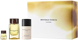 Düfte, Parfümerie und Kosmetik Bottega Veneta Illusione Pour Homme - Duftset (Eau de Toilette 90ml + Eau de Toilette Mini 7.5ml + Deo 75ml)