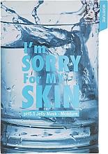 Feuchtigkeitsspendende Gesichtsmaske mit gelartiger Essenz - Ultru I'm Sorry For My Skin pH5.5 Jelly Mask Moisture — Bild N1